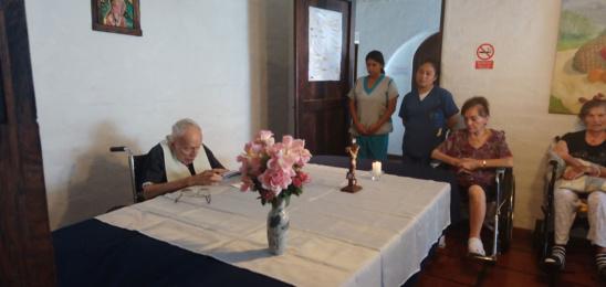 Celebraciones de misas del Padre Baker