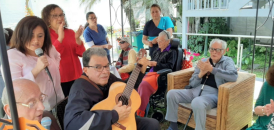 Día de la Canción Criolla en la residencia